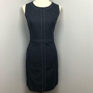 New York & Company Denim Dress Size 10